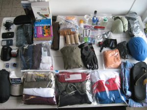 Clpthes to pack for the sea voyage