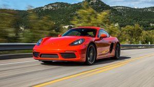 Porsche Cayman Red