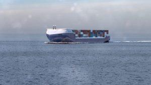 Rolls-Royce cargo container vessel