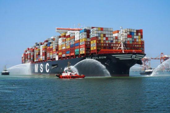 Conteiner ship MSC Gulsun
