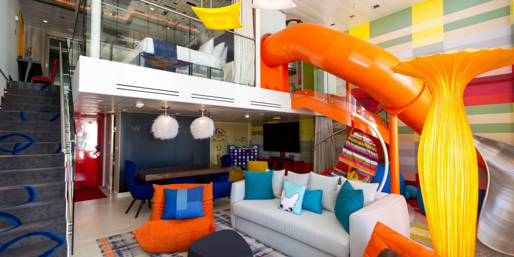 The Ultimate Family Suite on Oasis Class Ships