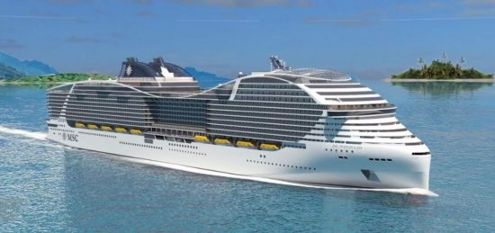 MSC New Vessel 2021