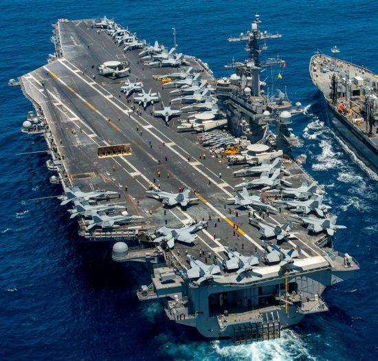 American Nimitz-class Aircraft Carrier