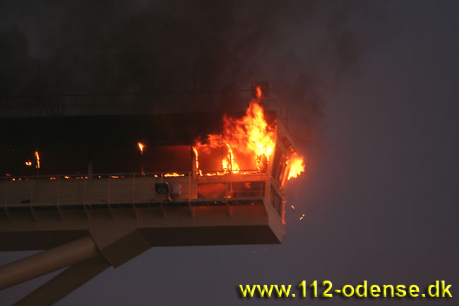 пожар на эмма маерск