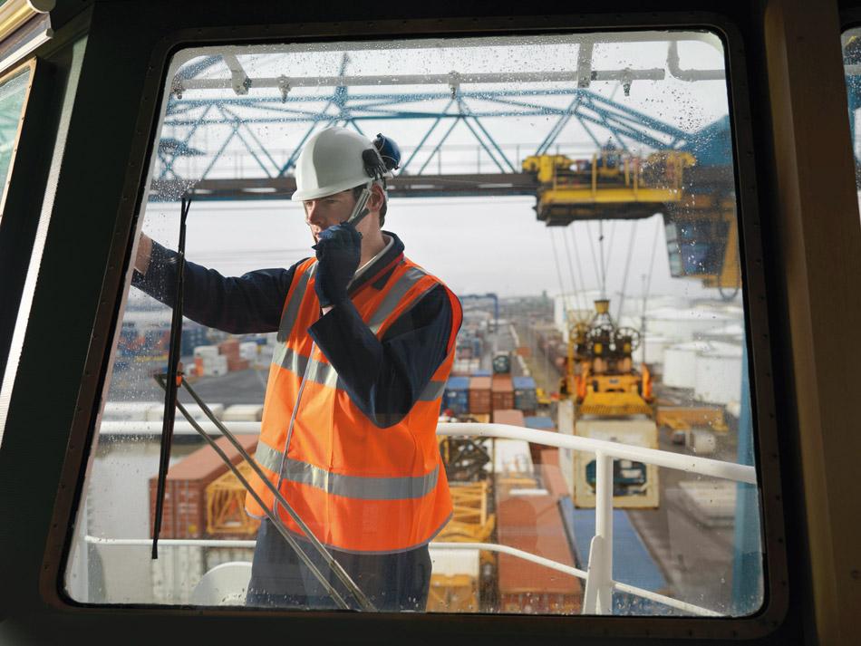 работник контейнерного терминала